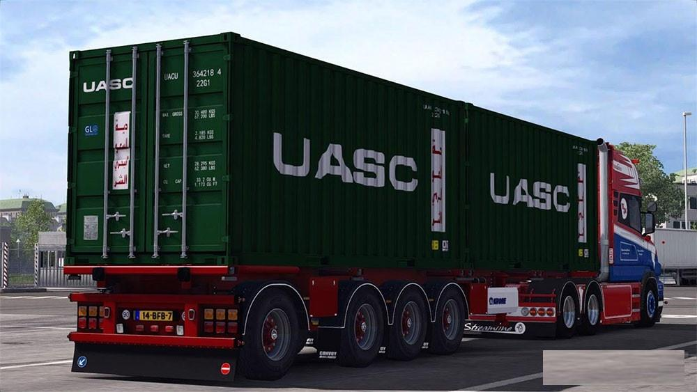 krone container v1 25 trailer ets2 mod