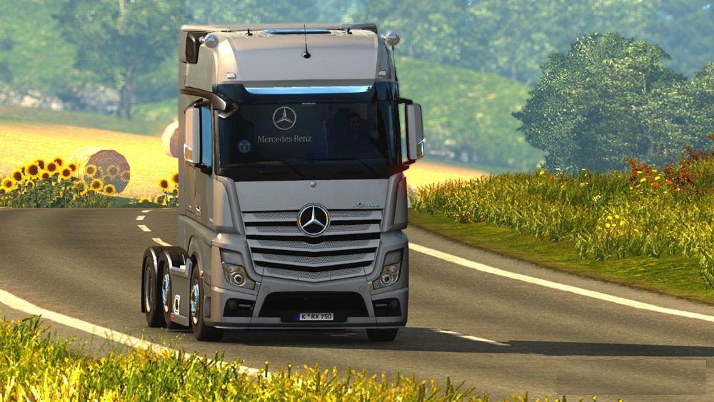 MERCEDES BENZ ACTROS 2014I ROADSTARS ETS2 Truck - ETS2 Mod