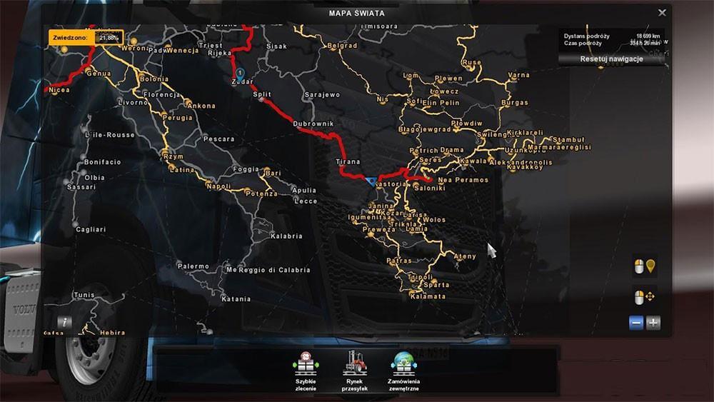 POLISH CITY NAMES V MOD ETS Mod - Portugal map euro truck simulator 2
