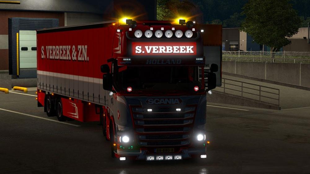 scania r440 streamline s verbeek amp verbeek trailer v1 25