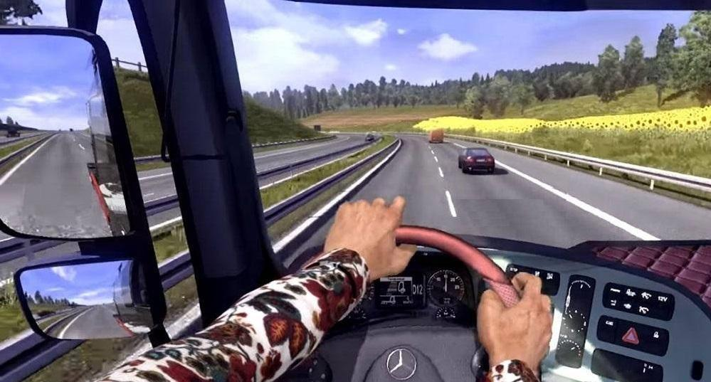 HANDS ON STEERING WHEEL (FIRST PERSON) TUNING MOD - ETS2 Mod