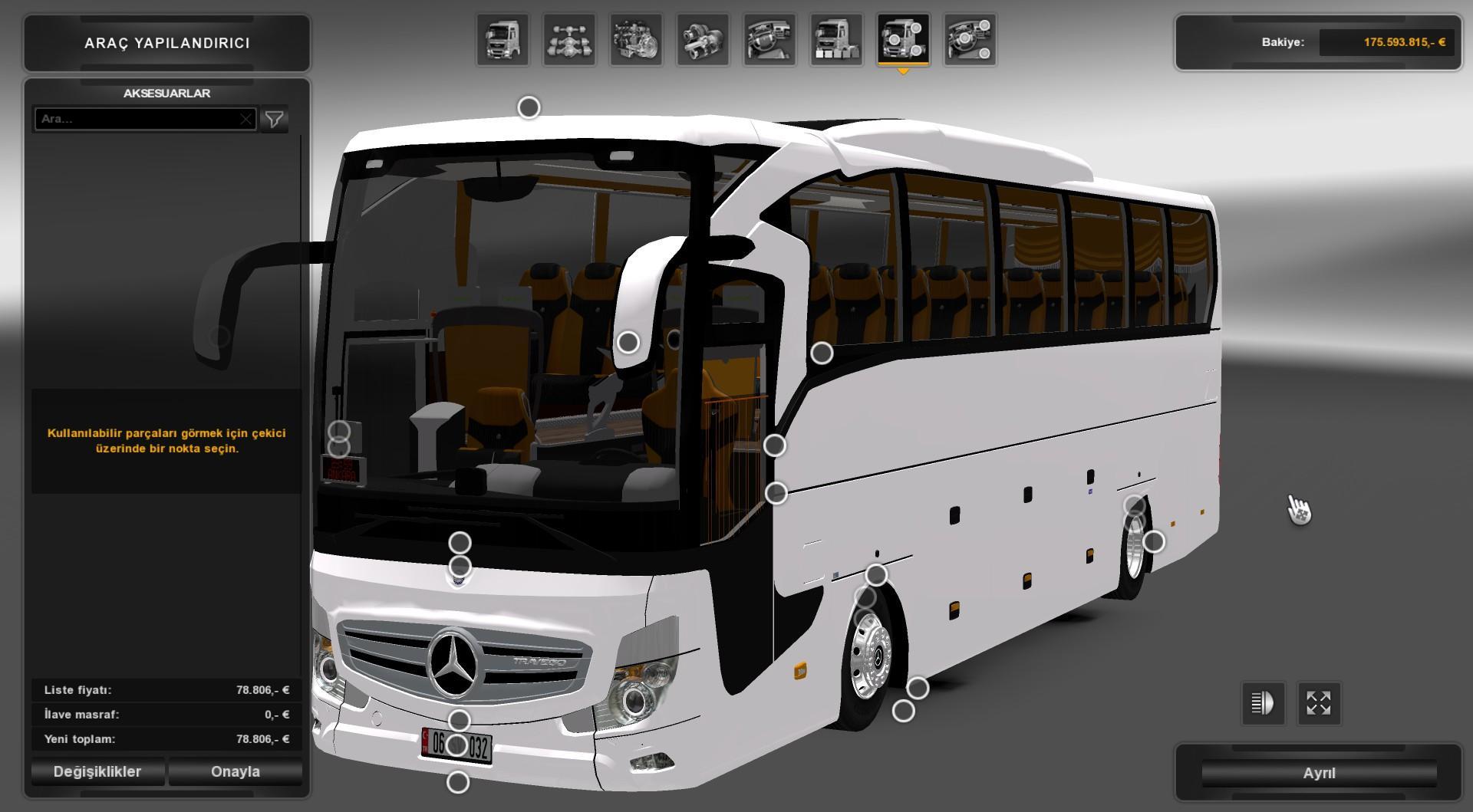 euro truck simulator setra bus travego 17