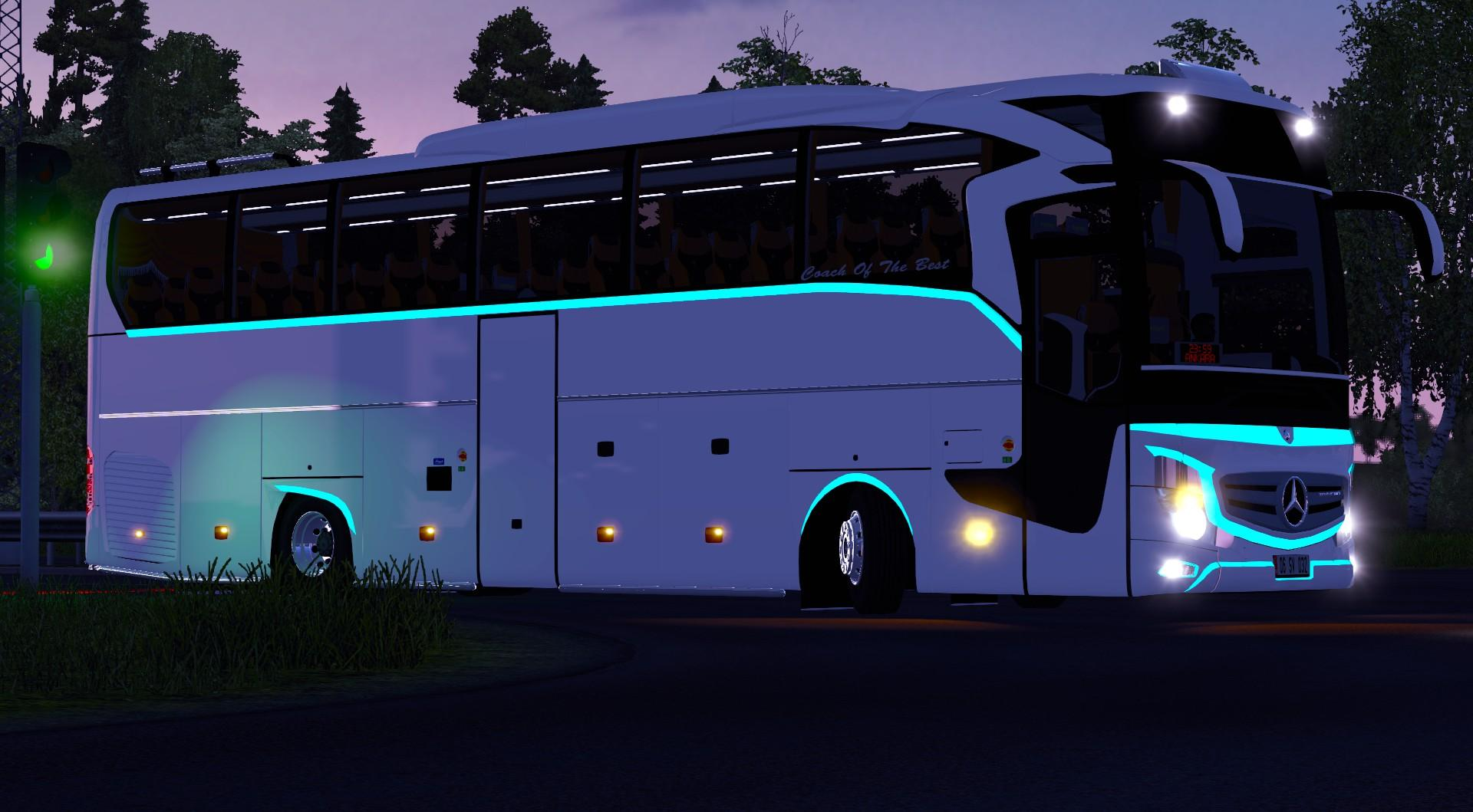 Mercedes Benz New Travego 2016 V2 1 26 X And 1 25 X Bus Ets2 Mod