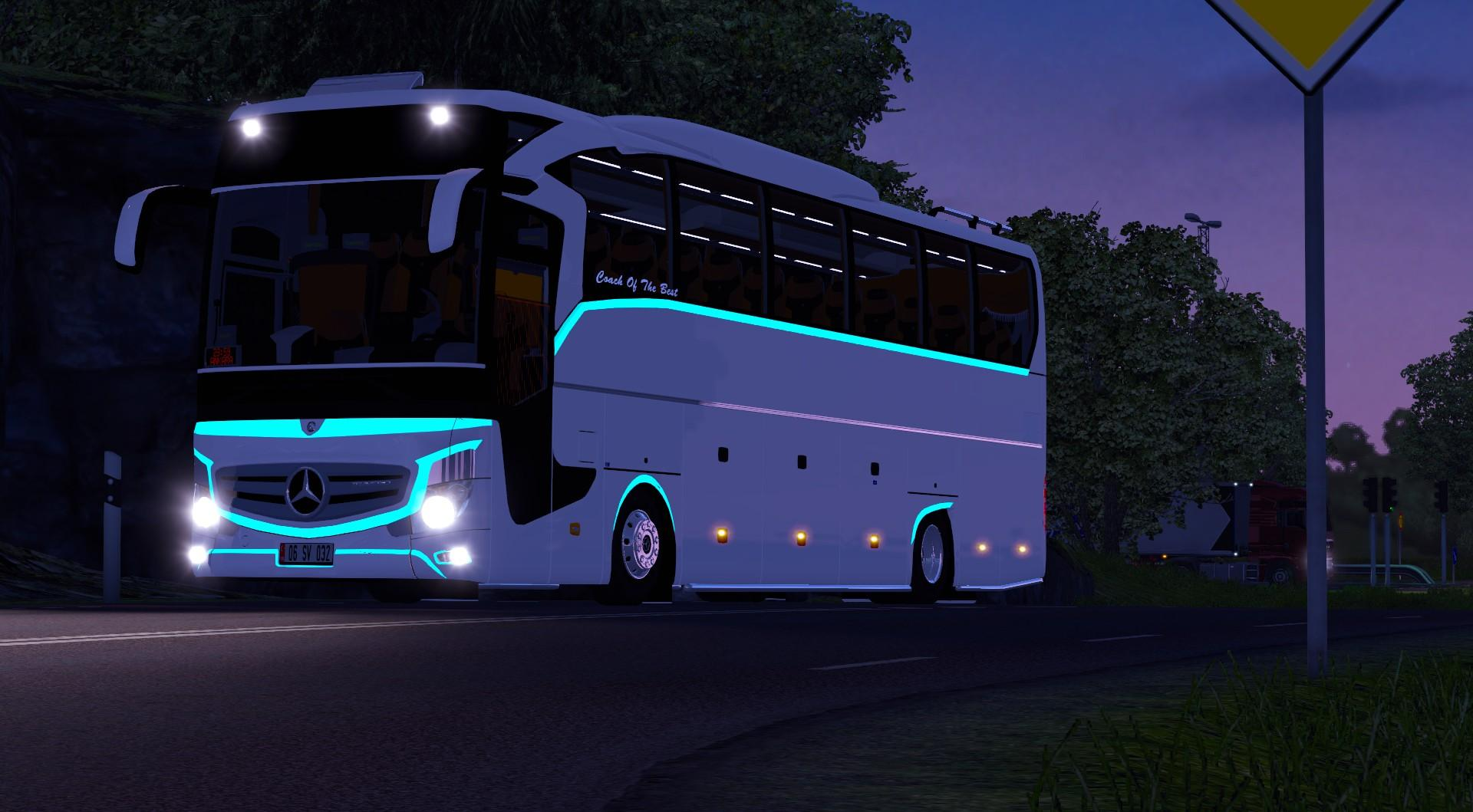 Mercedes benz new travego 2016 v2 and bus for Mercedes benz transit