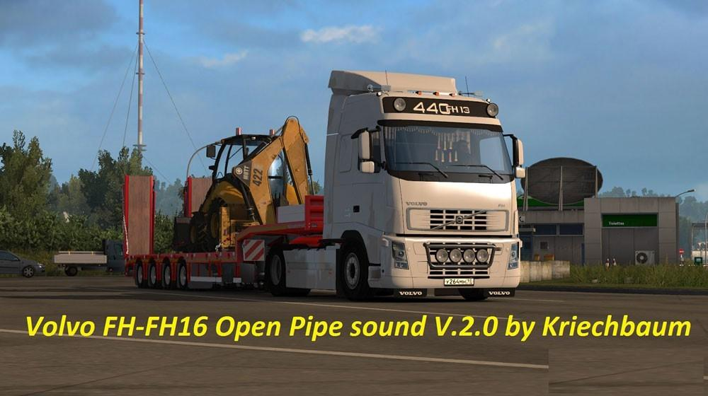 Volvo Fh Series Open Pipe Sound 2016 11 13 Ets2 Ets2 Mod