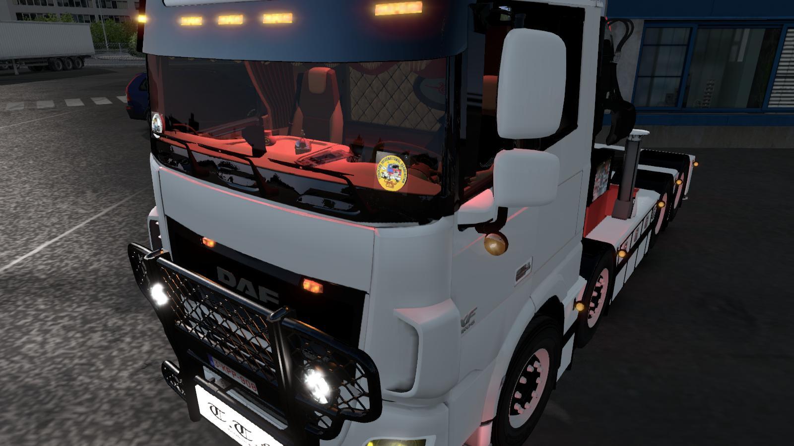 DAF LOWROOF TRUCK - ETS2 Mod