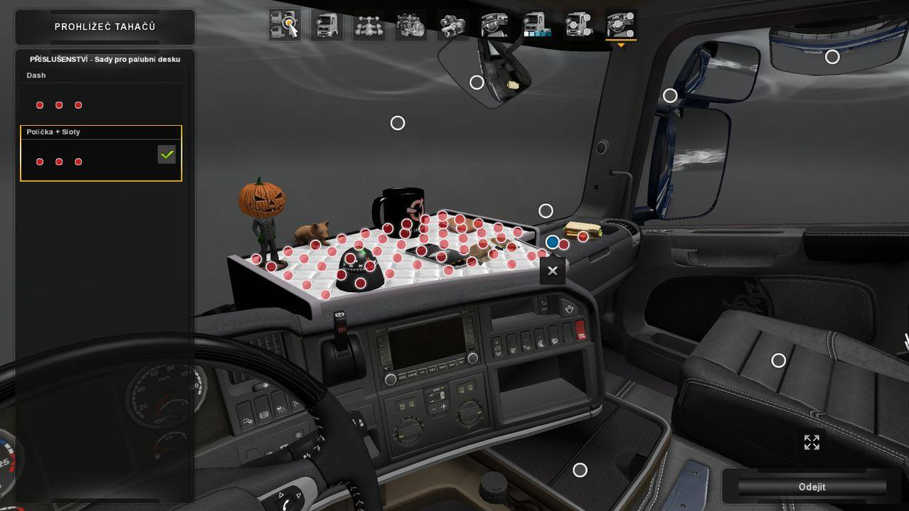 accessories ats cabins cabin simulator for truck euro mods dlc