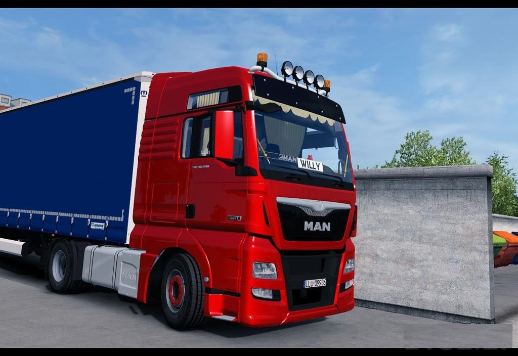man tgx euro6 xxl truck ets2 mod. Black Bedroom Furniture Sets. Home Design Ideas