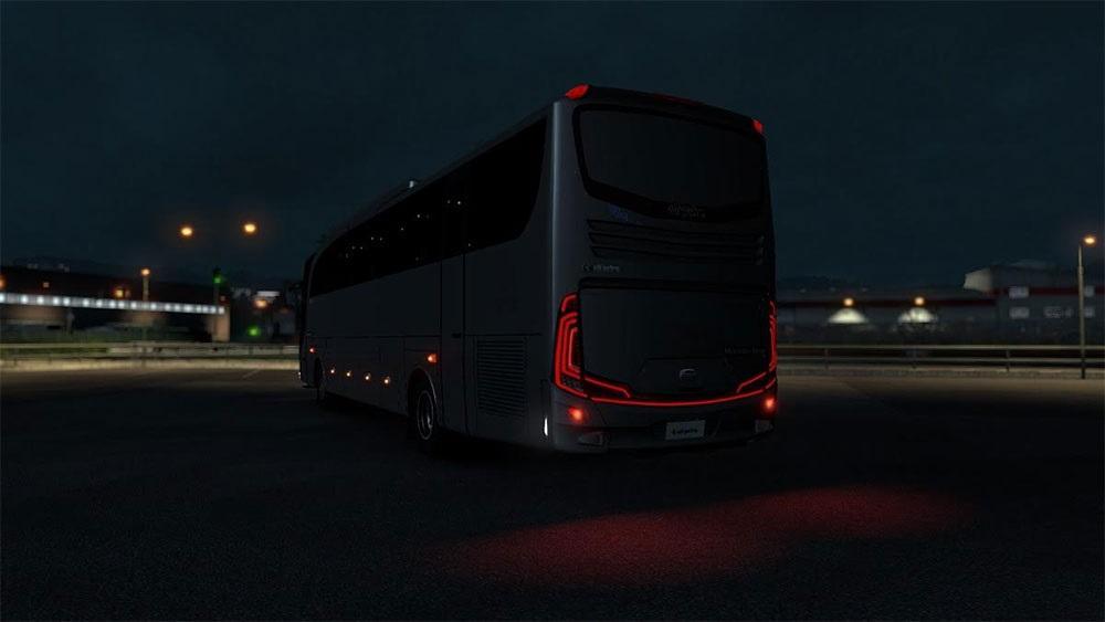 Mercedes Benz Jetbus 1 26 Bus Mod Ets2 Mod