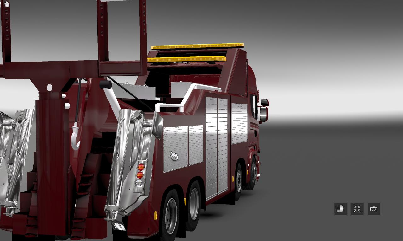 Truck Parts For Sale >> SCANIA TOW V1.0 TRUCK - ETS2 Mod