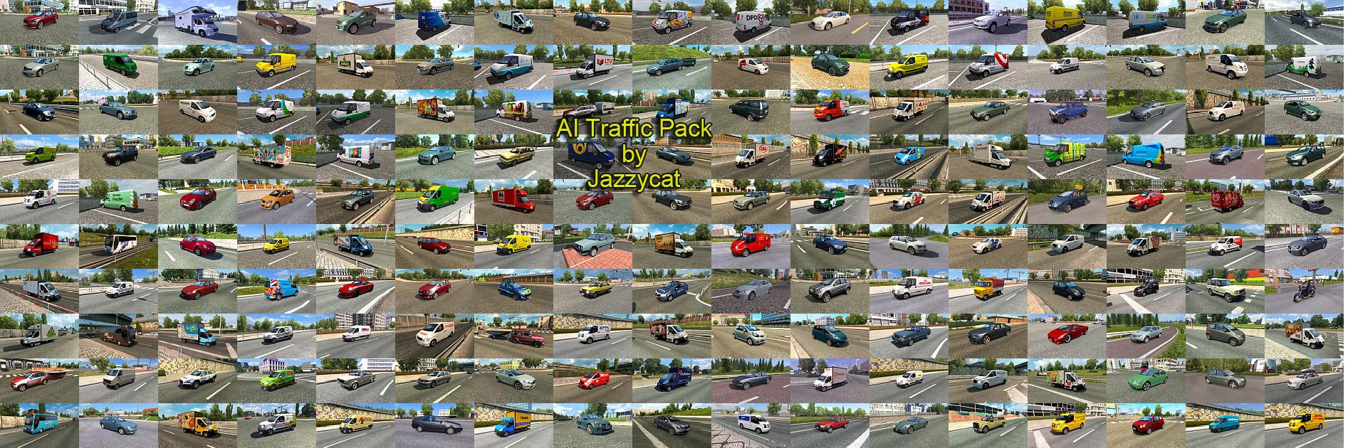Ai Traffic Pack By Jazzycat V4 2 Ets2 Ets2 Mod