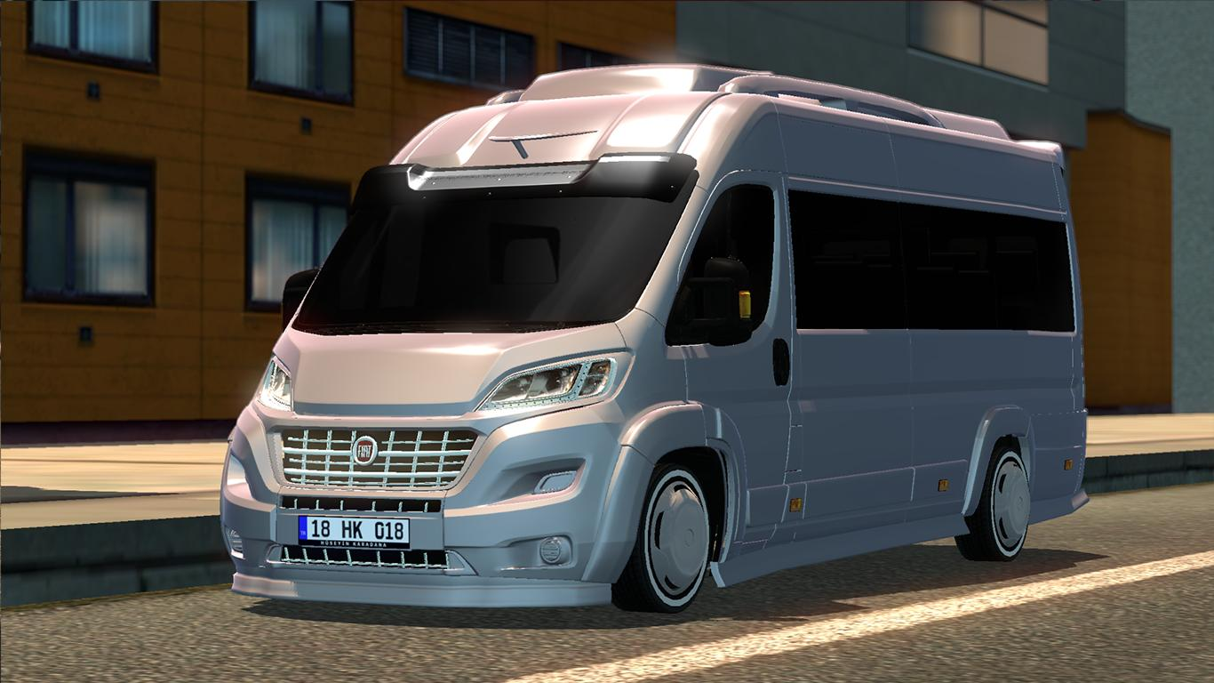 fiat ducato v1 0 car mod ets2 mod. Black Bedroom Furniture Sets. Home Design Ideas