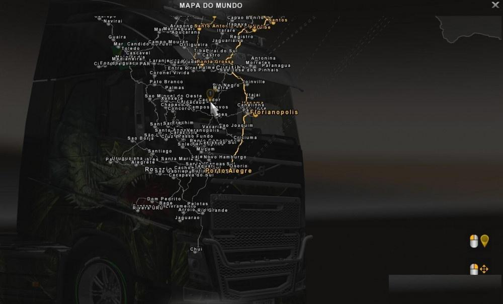 FIX PROMODS V2 12 MAP VIEW EXPANDED ETS2 - ETS2 Mod