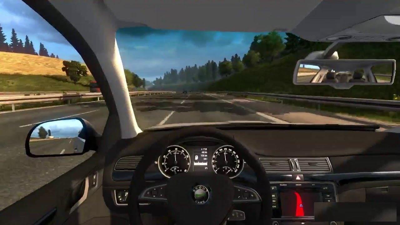 Skoda Superb V1 26 Car Ets2 Mod