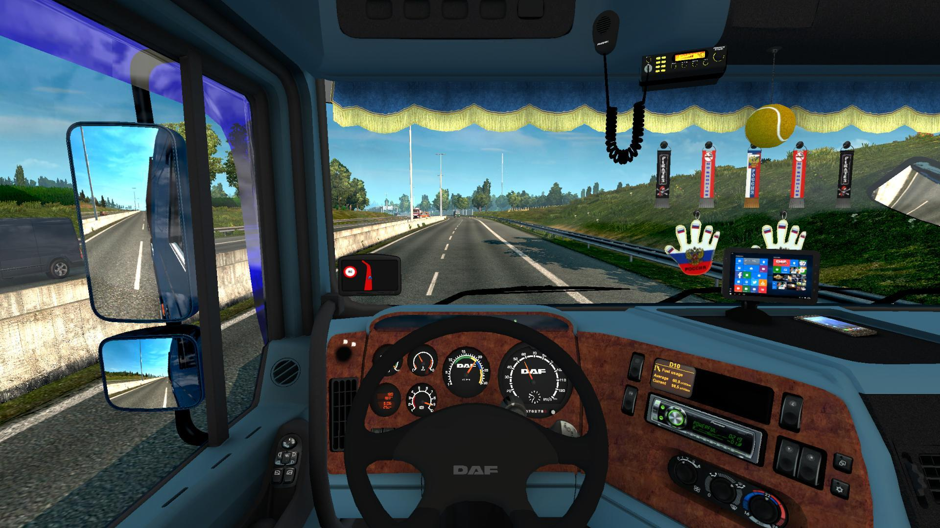 DAF XF 95 REWORKED 1 24 X - 1 26 X FOR ETS2 TRUCK MOD - ETS2 Mod