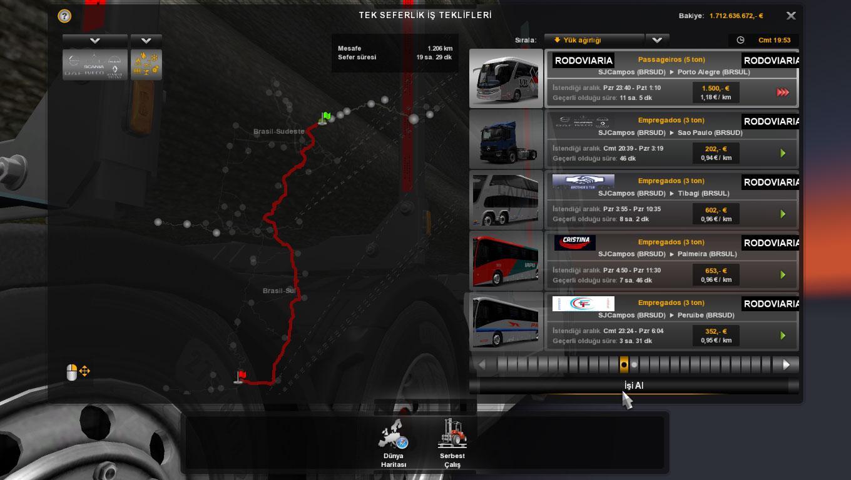 EAA BUS MAP V4204 1266 MOD ETS2