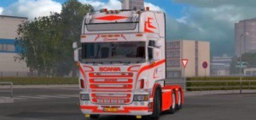 mercedes benz 1418 1 28 x truck mod   ets2 mod