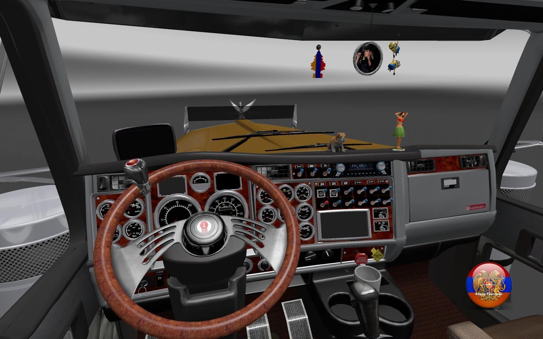 Kenworth W900 Long Cabin Accessory Interior Mod Ets2 Mod