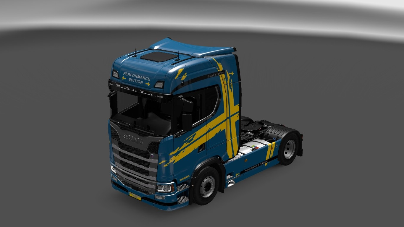 Parts Of Cars >> Performance Edition Skin for Scania S580 ets2 - ETS2 Mod