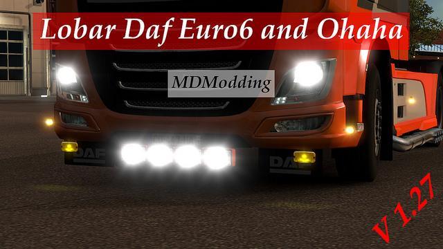 Lobar Daf Euro6 Scs V1 27 Tuning Mod Ets2 Mod