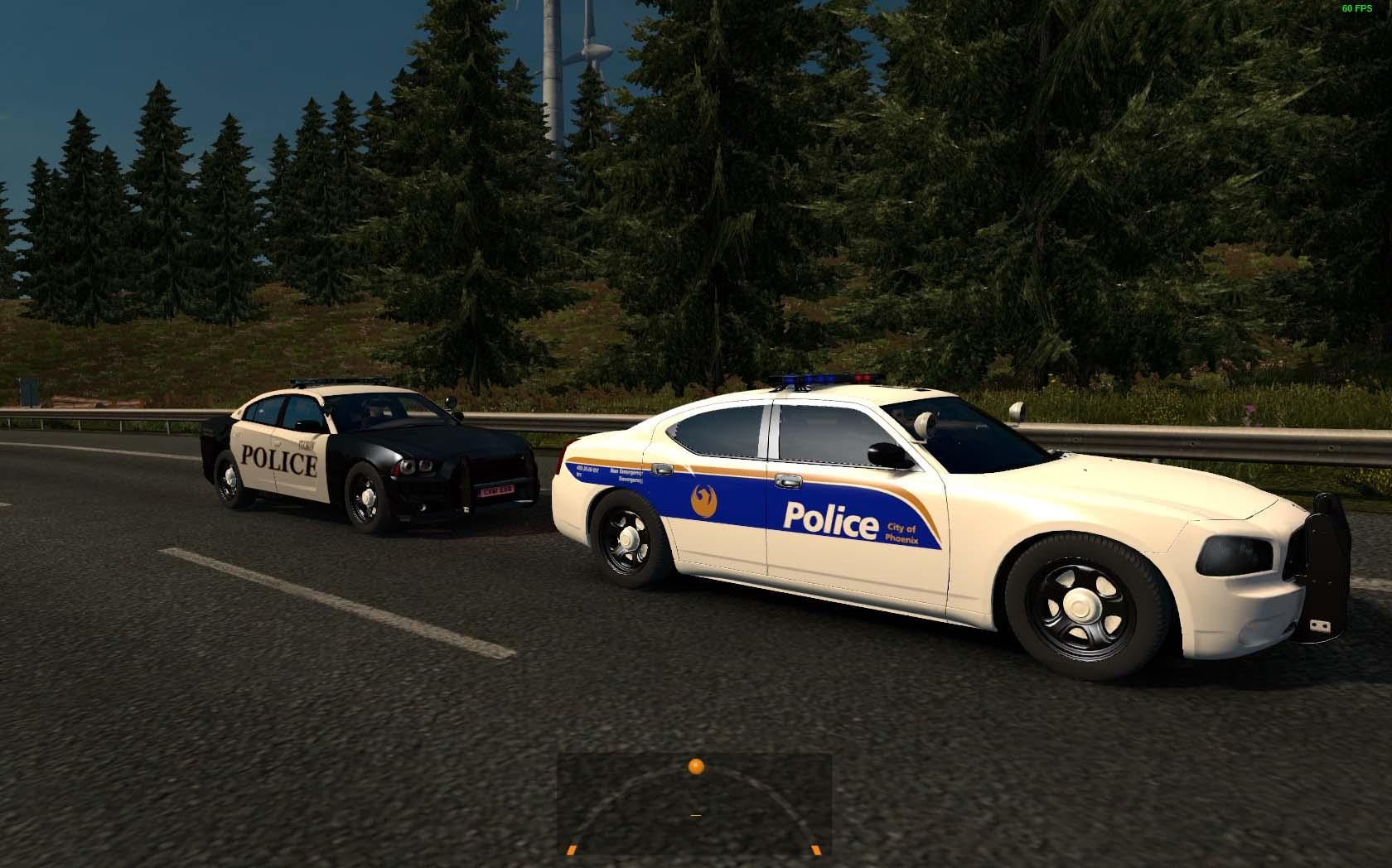 USA POLICE TRAFFIC 1 26 MOD - ETS2 Mod