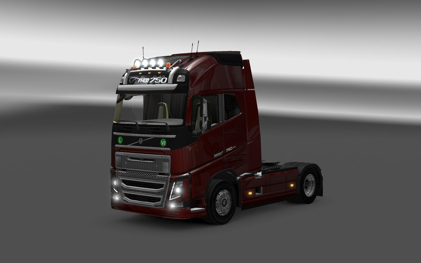 Volvo Fh Amp Fh16 2012 Reworked Updated 28 03 2017 Truck