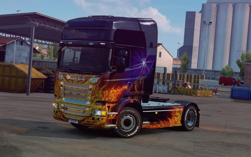 chassis from scania r to scania s v1 0 tuning mod ets2 mod. Black Bedroom Furniture Sets. Home Design Ideas