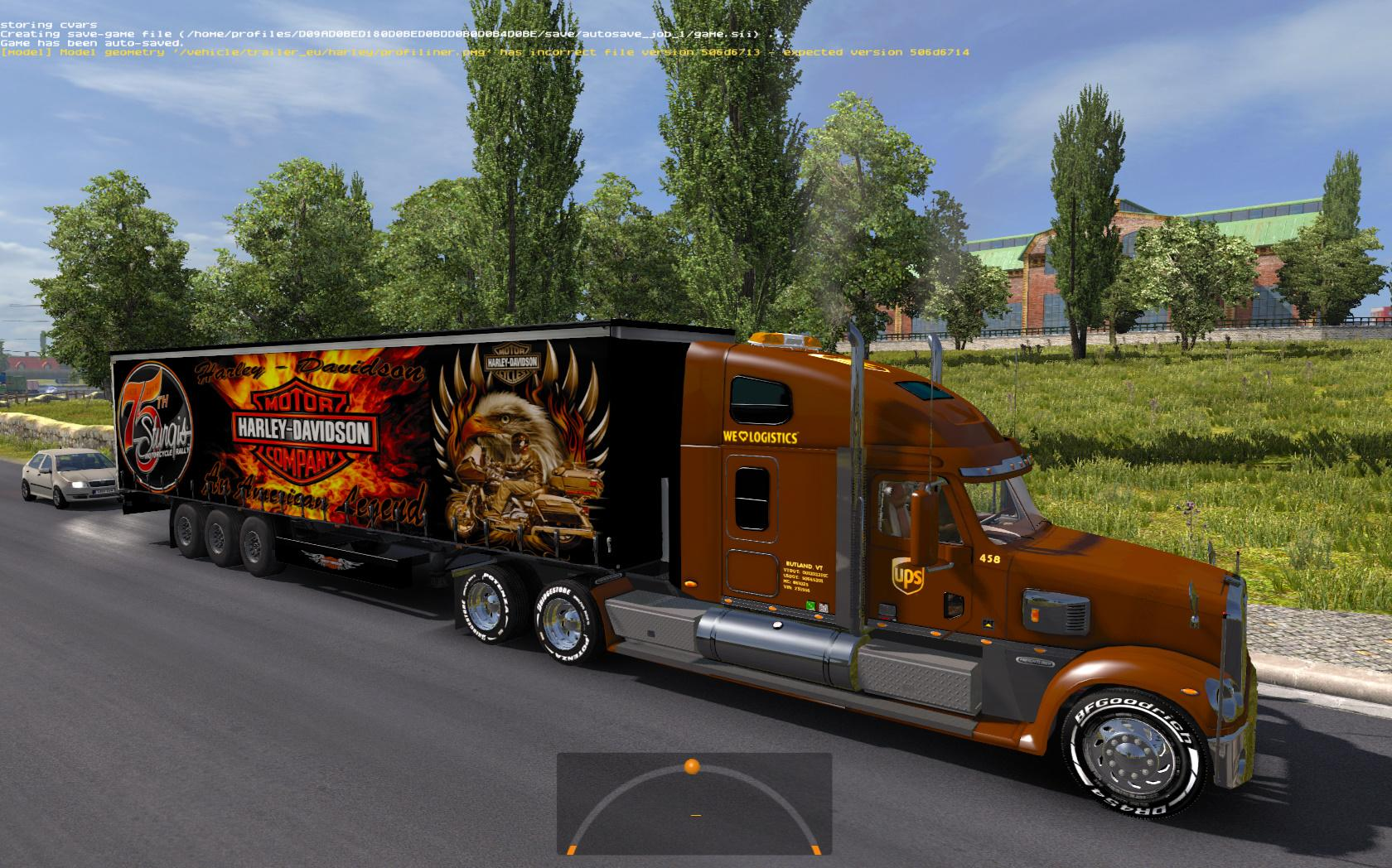 harley davidson trailer ets2 ets2 mod. Black Bedroom Furniture Sets. Home Design Ideas