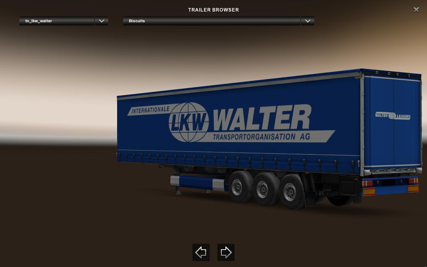 lkw walter leasing trailer v1 0 ets2 ets2 mod. Black Bedroom Furniture Sets. Home Design Ideas