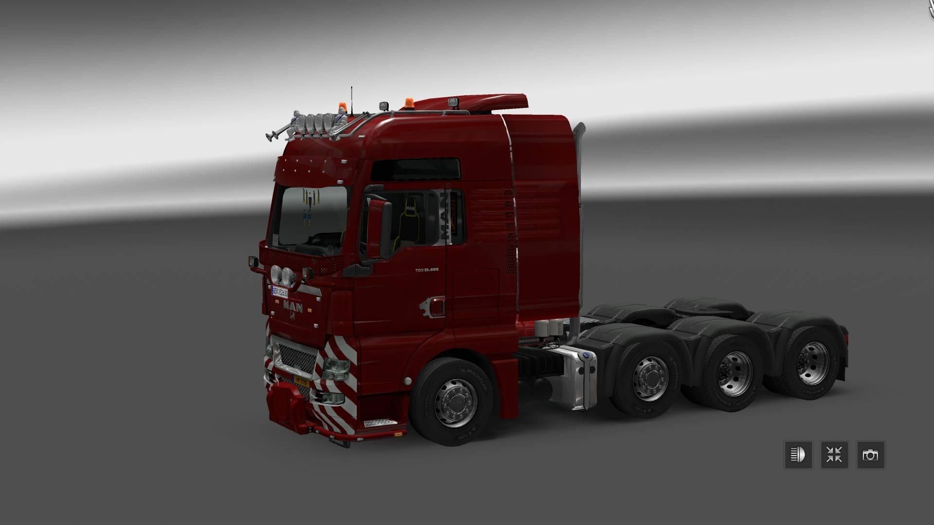 man tgx 2010 v3 2 truck ets2 mod. Black Bedroom Furniture Sets. Home Design Ideas