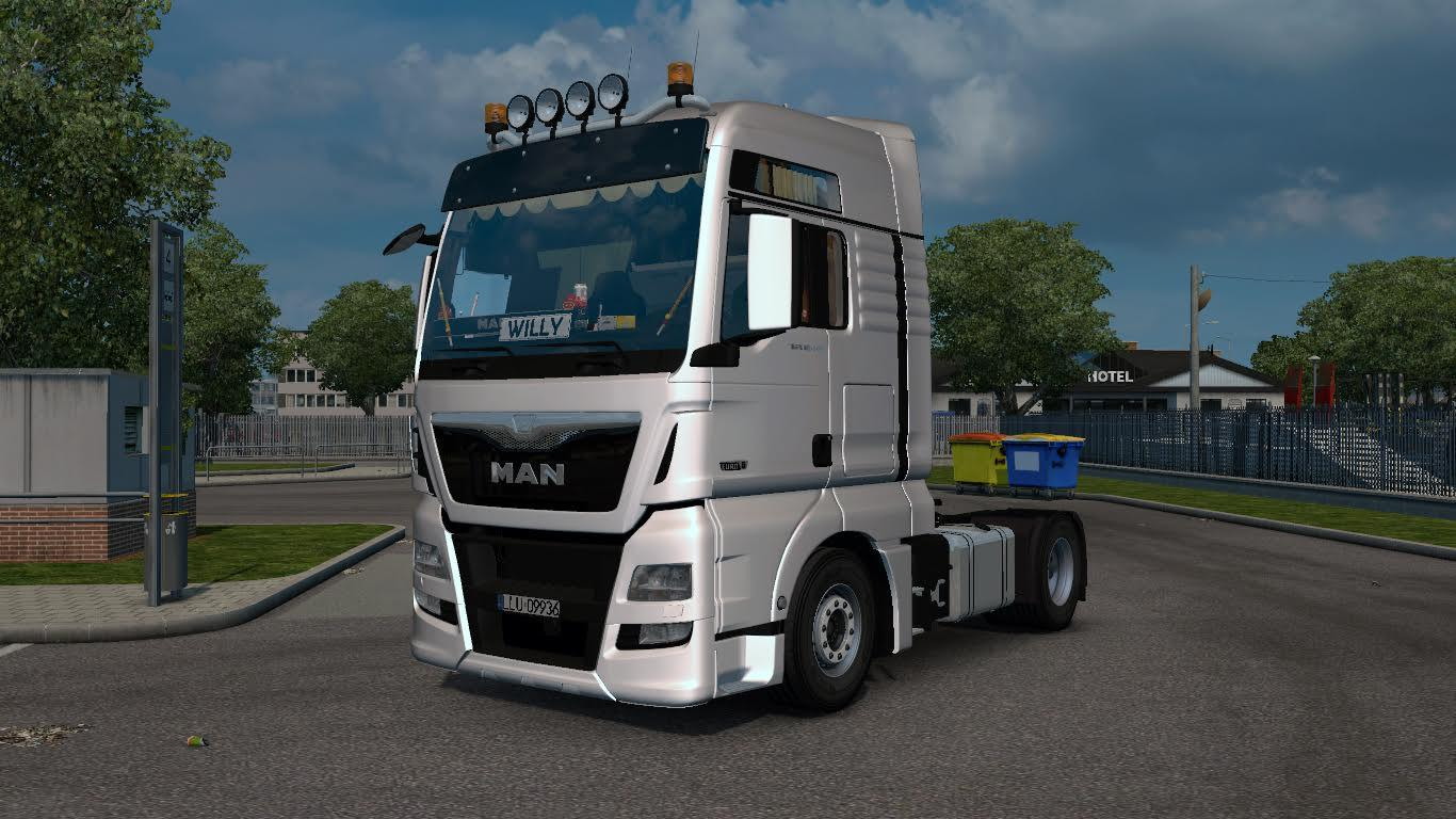 man tgx xxl euro 6 v1 0 truck mod ets2 mod. Black Bedroom Furniture Sets. Home Design Ideas