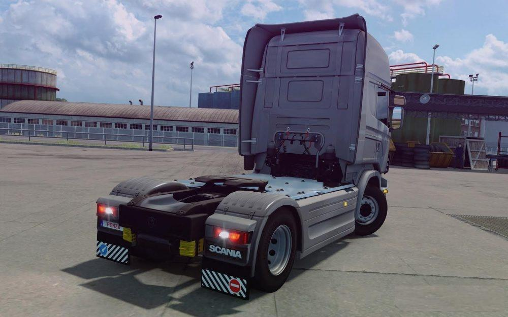 mod produces a standard rear bumper from scania s to. Black Bedroom Furniture Sets. Home Design Ideas