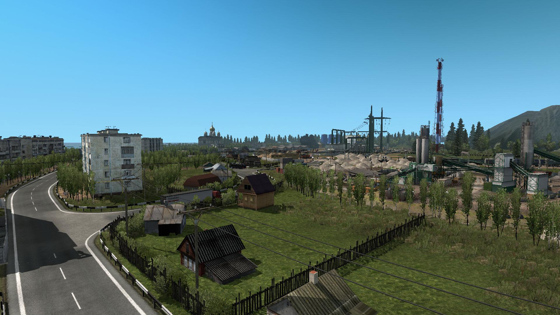 The harsh russian r9 map mod ets2 ets2 mod for The russian mod