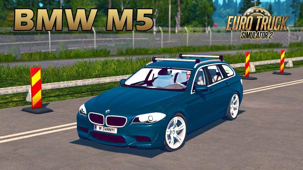 BMW M5 E60 V11 CAR - ETS2 Mod
