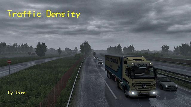 TRAFFIC DENSITY 1 26-1 27X MOD - ETS2 Mod
