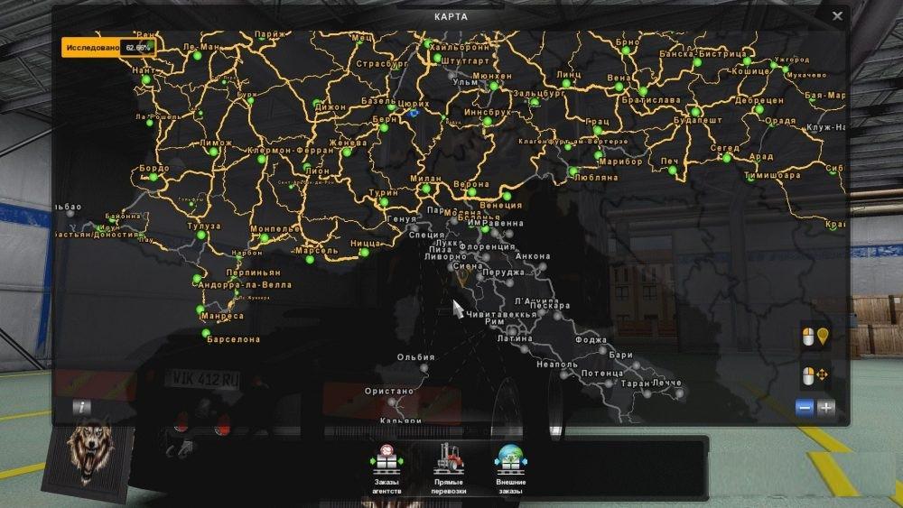 fix promods 217 italy v20 map mod ets2 mods