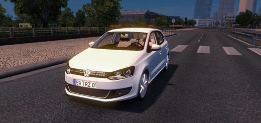 Volkswagen Polo Fixed 1 27 Car Mod Ets2 Mod