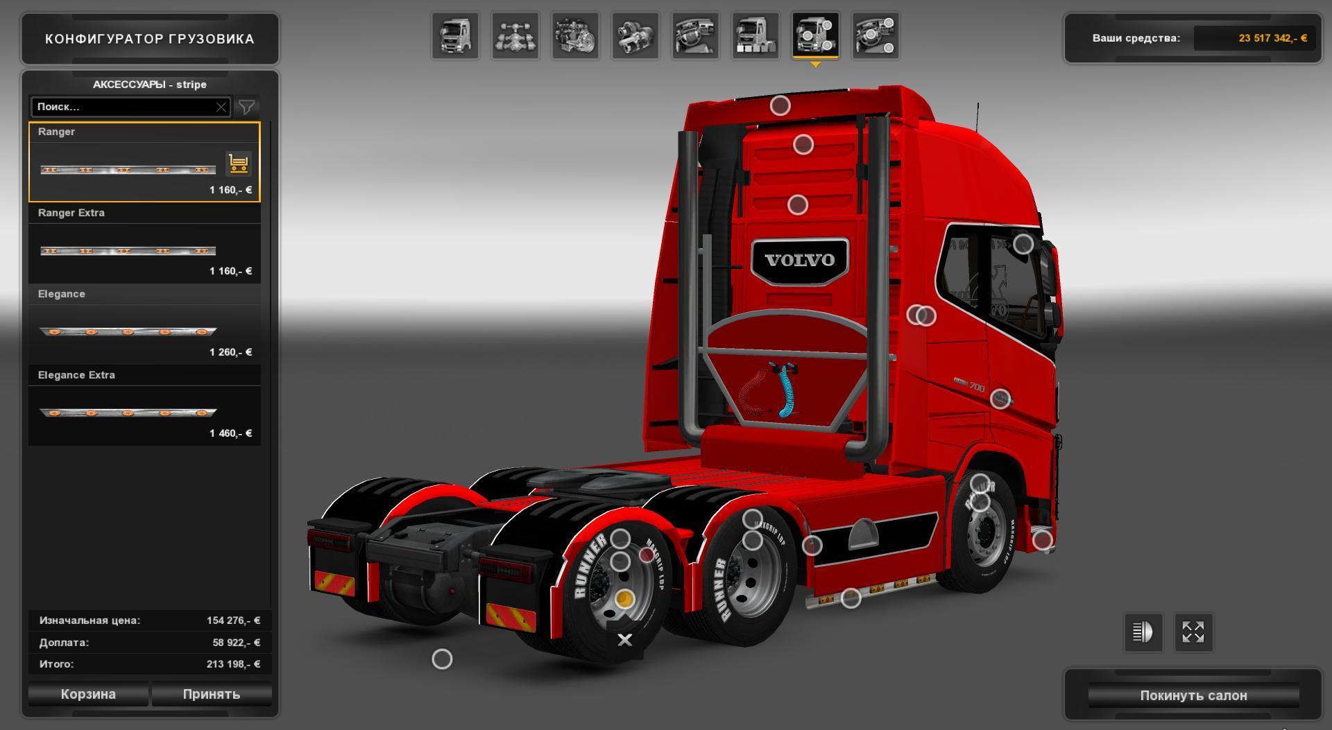 VOLVO FH16 700 BY NIKOLA TRUCK MOD - ETS2 Mod
