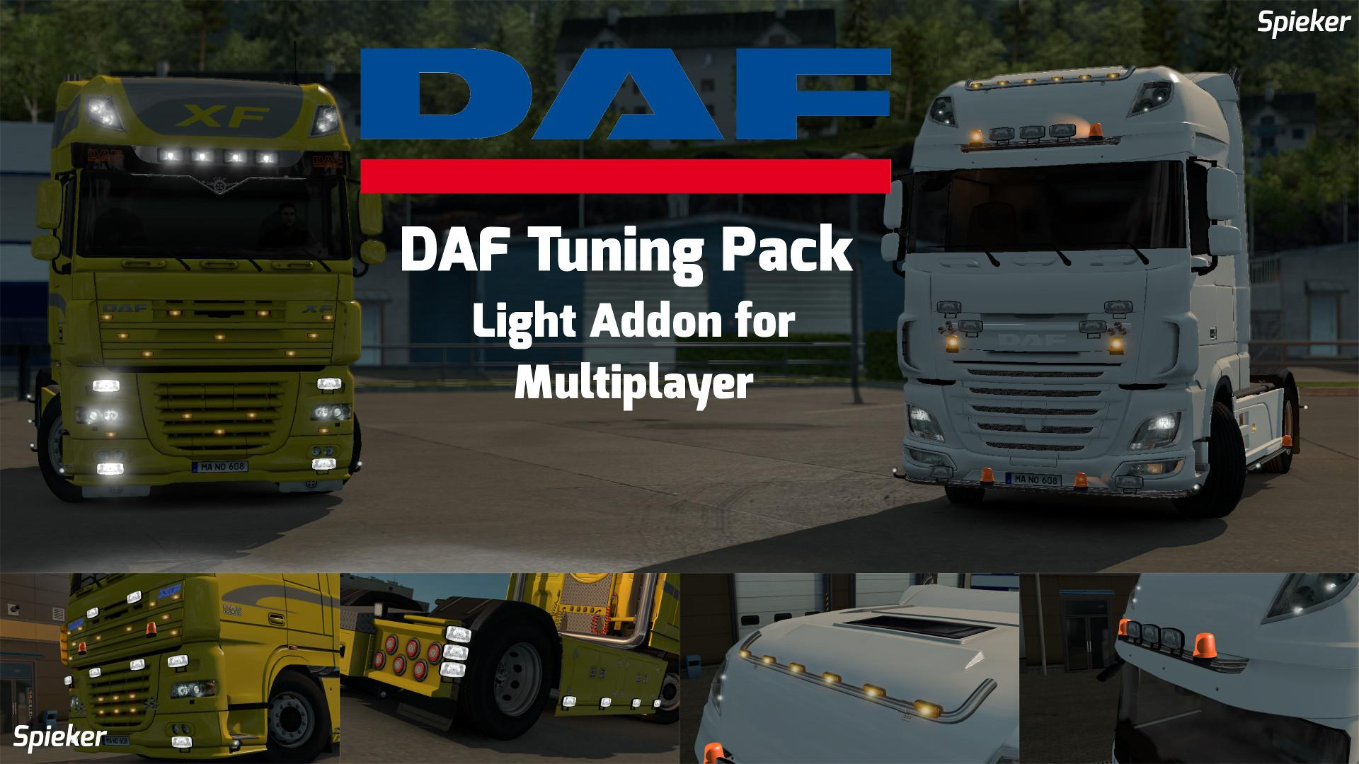 DAF TUNING PACK LIGHT ADDON [MP COMPATIBLE] V1.28.X TUNING ...
