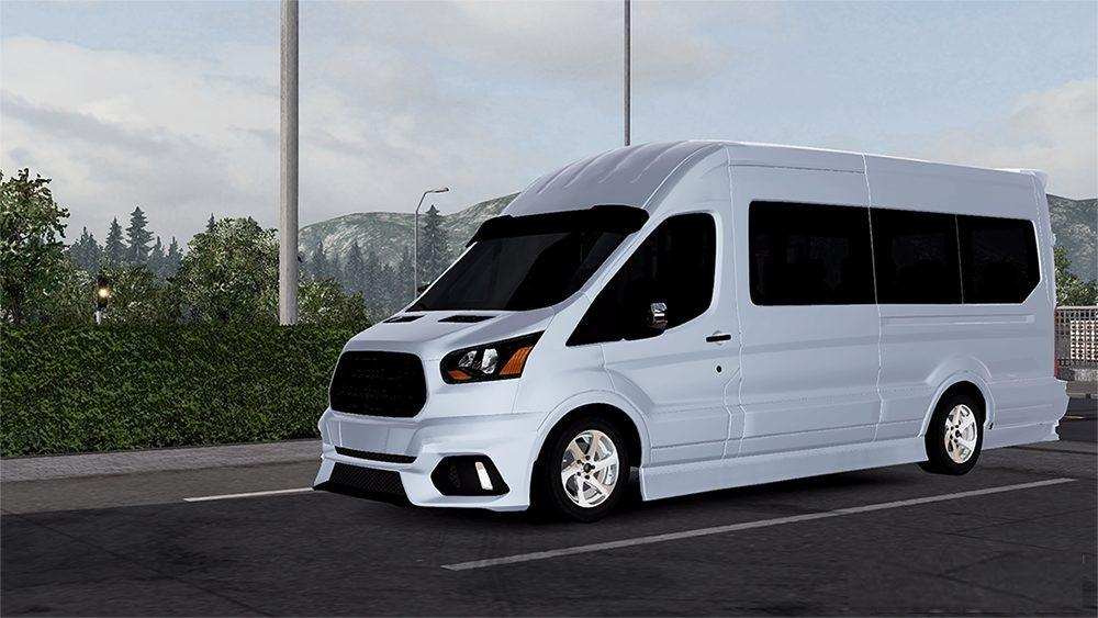 Ford Transit 2016 V1 0 Car Mod Ets2 Mod