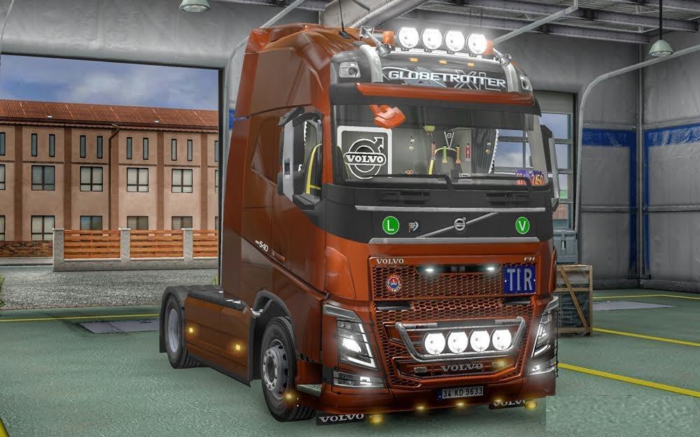 New Volvo Fh16 Accessories Interior V3 3 Truck Mod