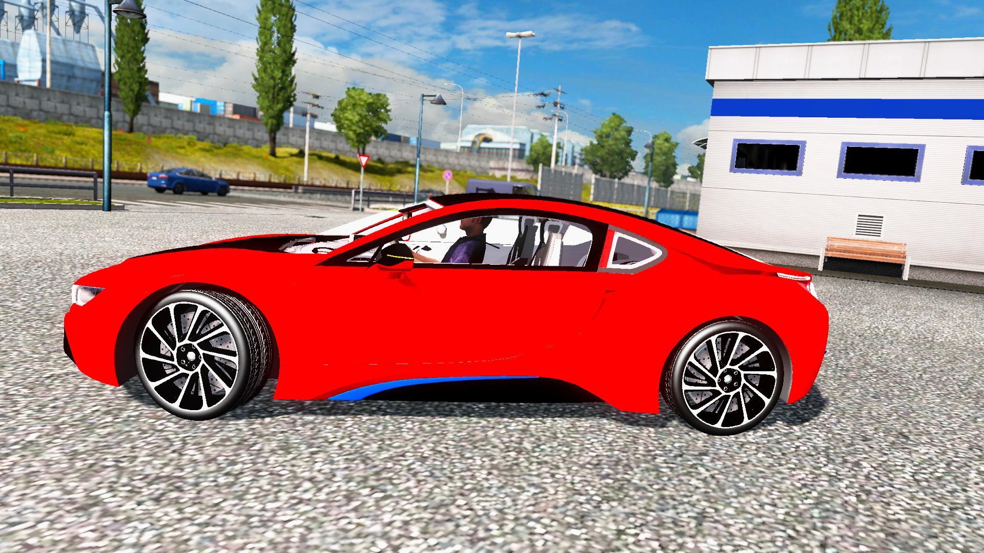 Seat Skins For Trucks >> BMW I8 + INTERIOR V3.0 (1.28.X) CAR MOD - ETS2 Mod