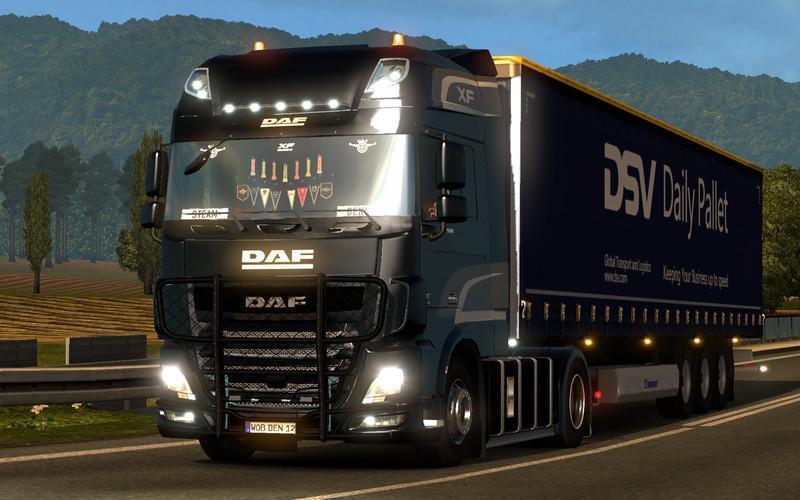 Daf Xf E6 By Ohaha V2 00 Truck Mod Ets2 Mod