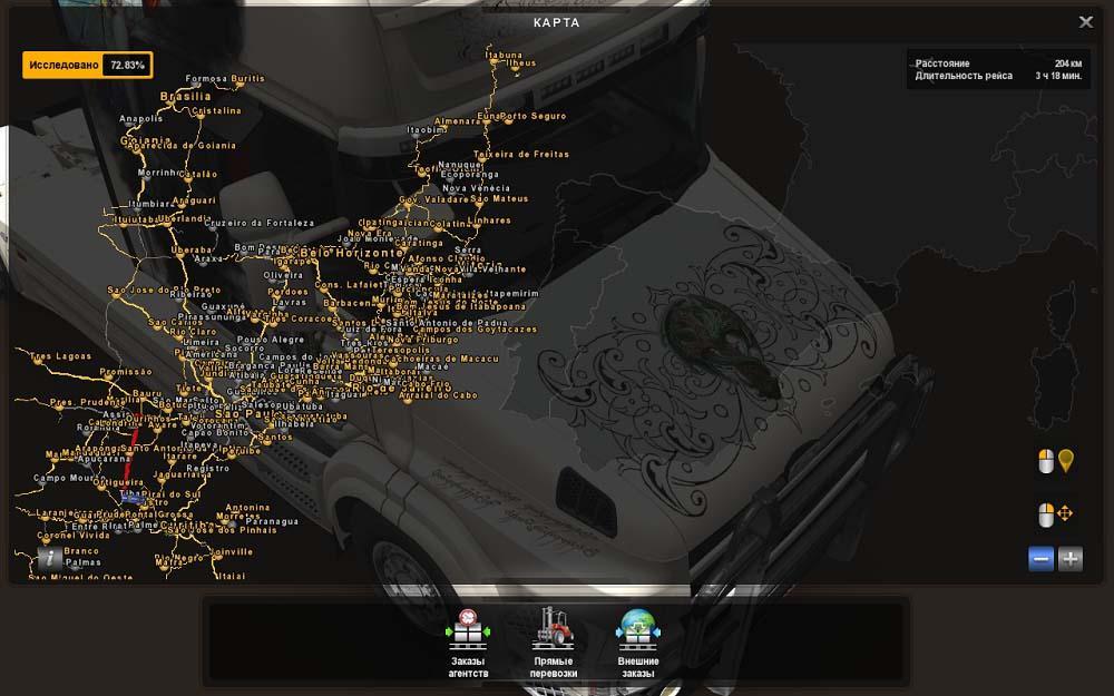 eaa bus v4 4 1 map mod ets2 mod. Black Bedroom Furniture Sets. Home Design Ideas