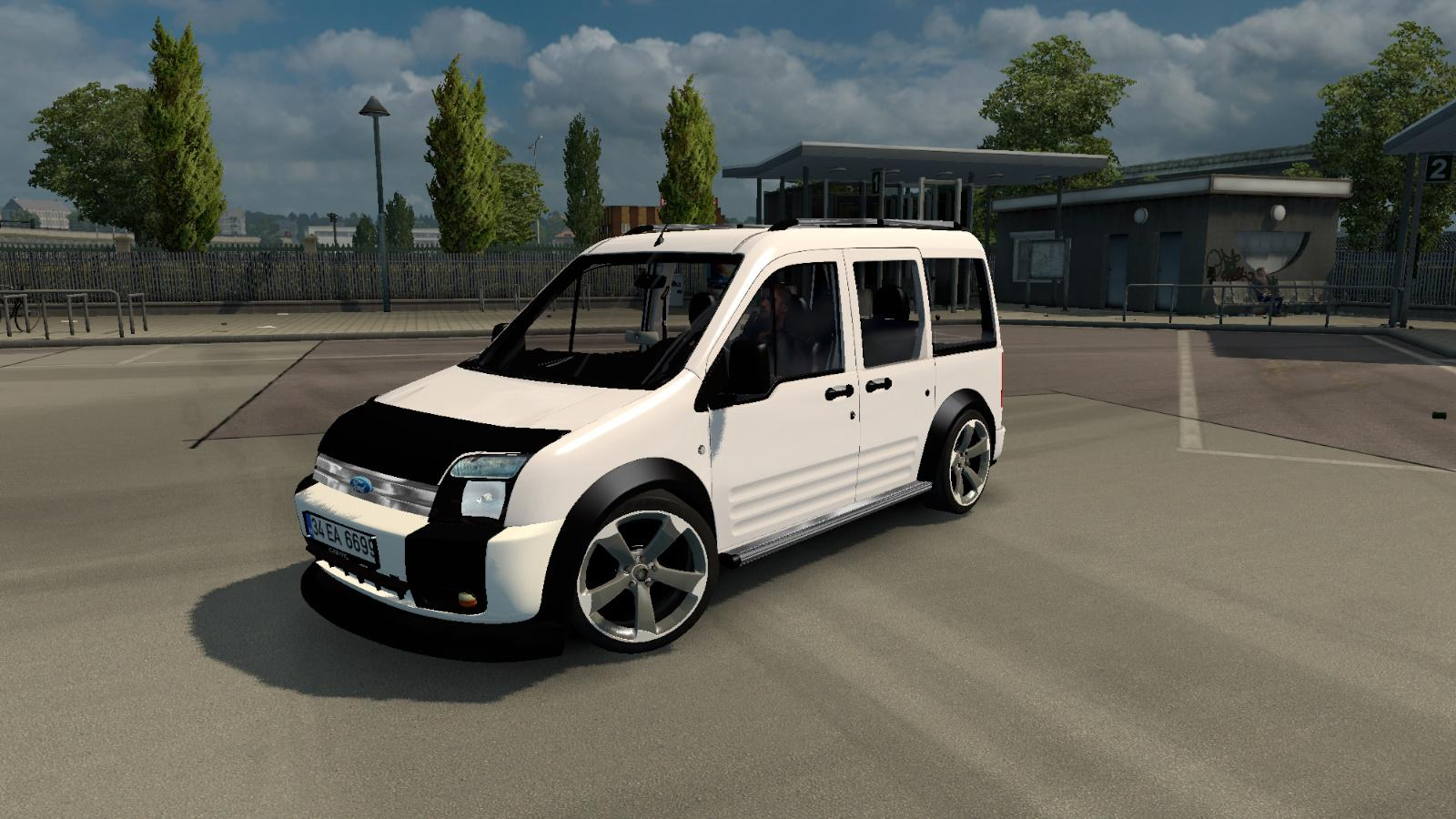 Ford Tourneo Connect V1 0 Car Mod Ets2 Mod