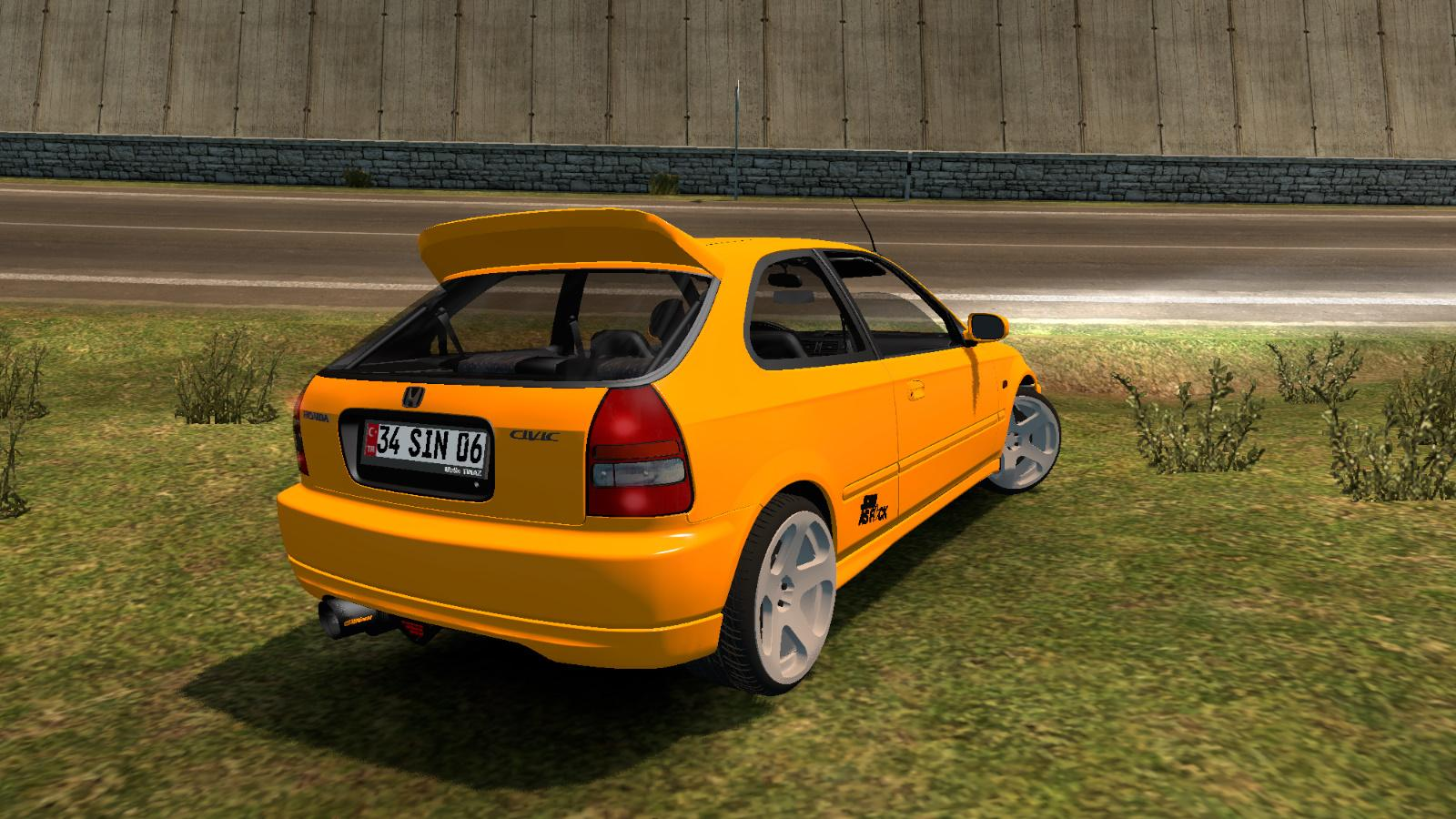 honda civic hatchback  car mod ets mod