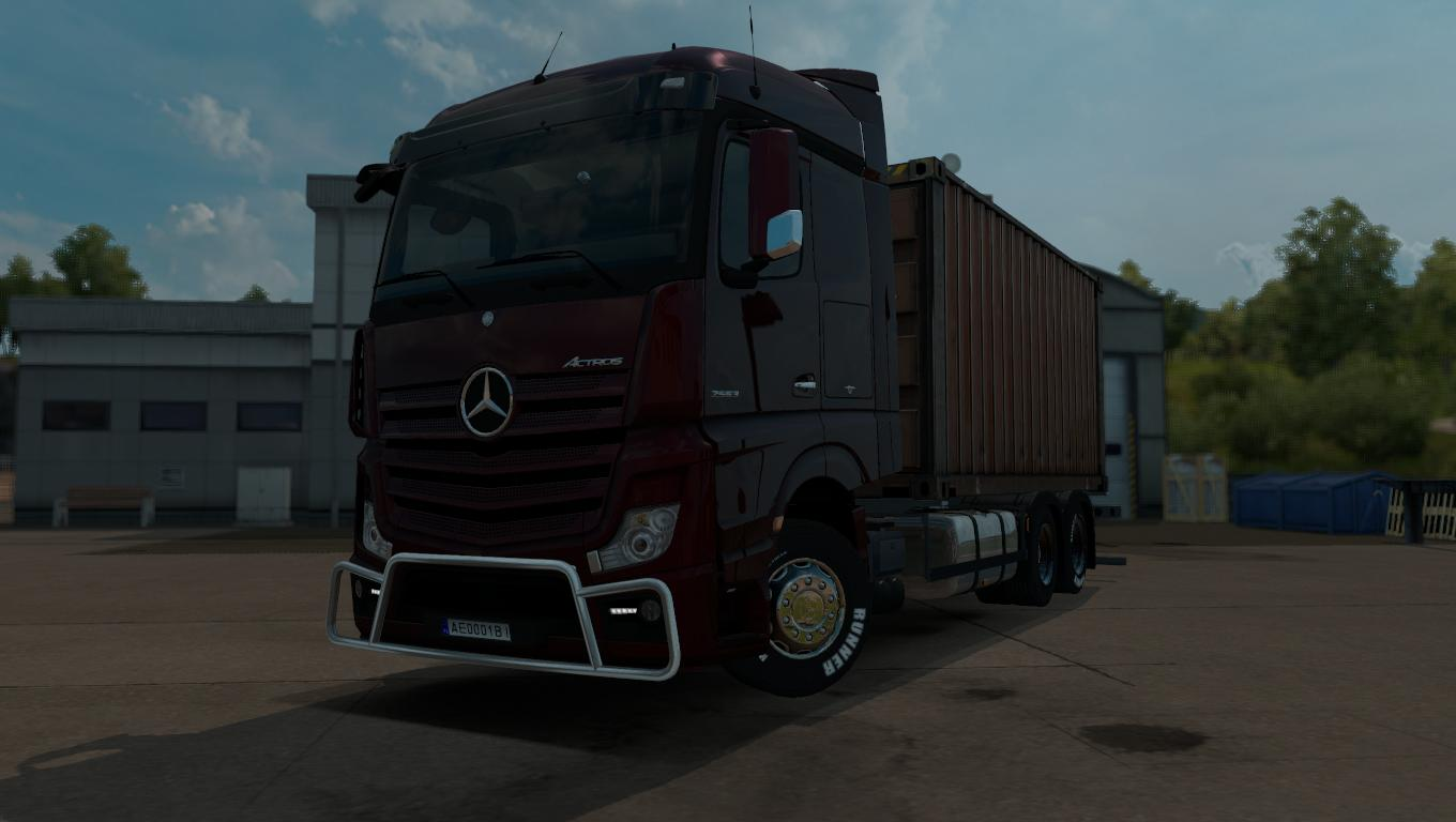 Mercedes benz actros mp4 rgd tuning mod ets2 mod for Mercedes benz truck parts