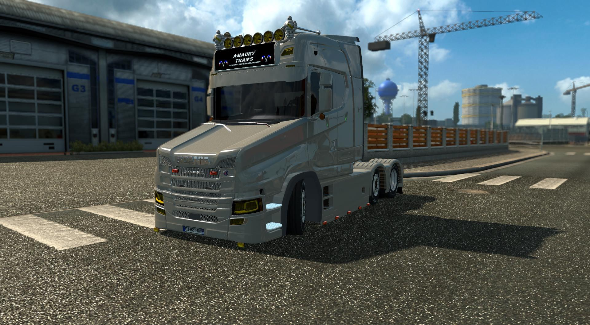 ets2 how to use heavy hauler