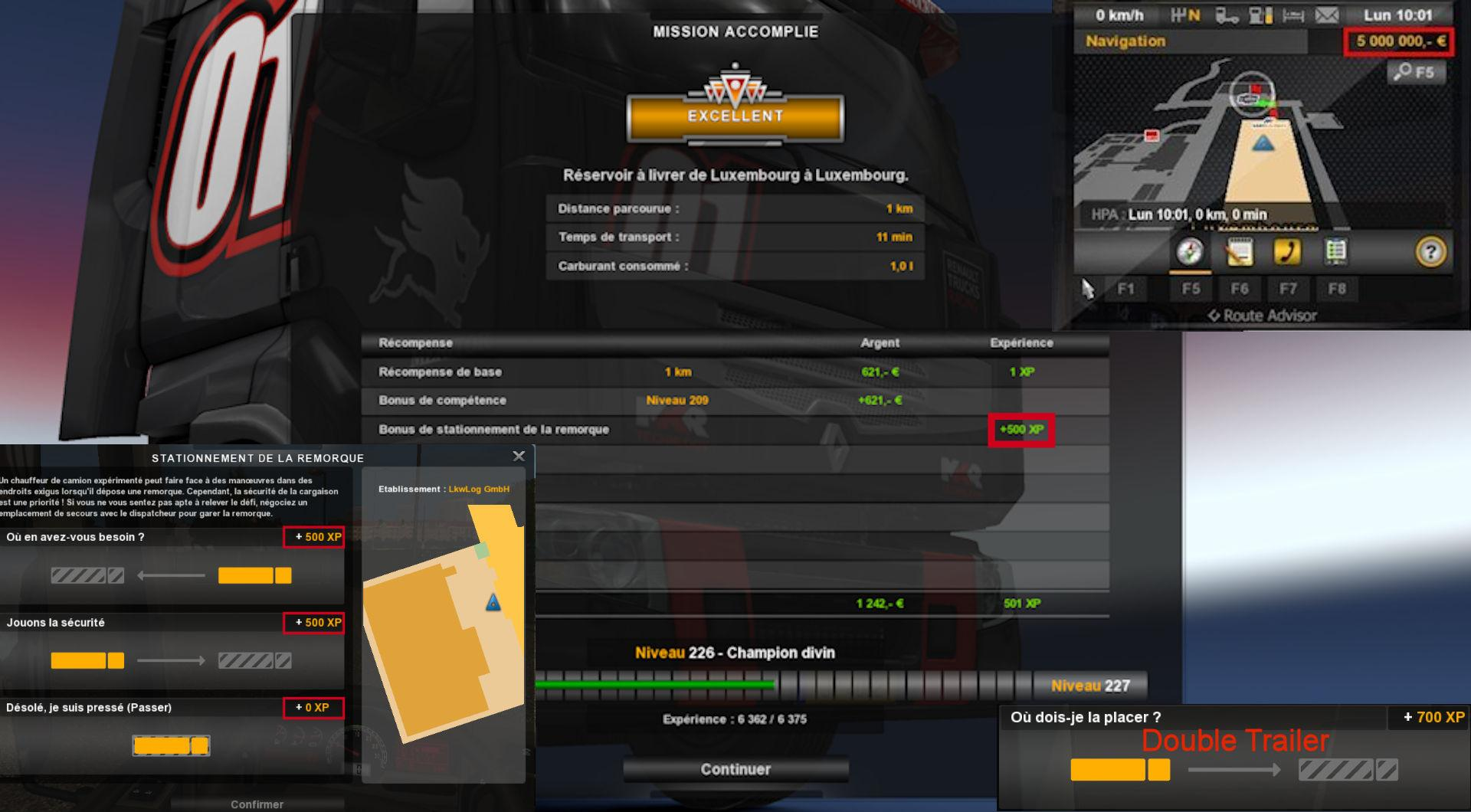Fast Level More Xp V130 Mod Ets2 Euro Truck Simulator 2 Dan Indonesia Mods