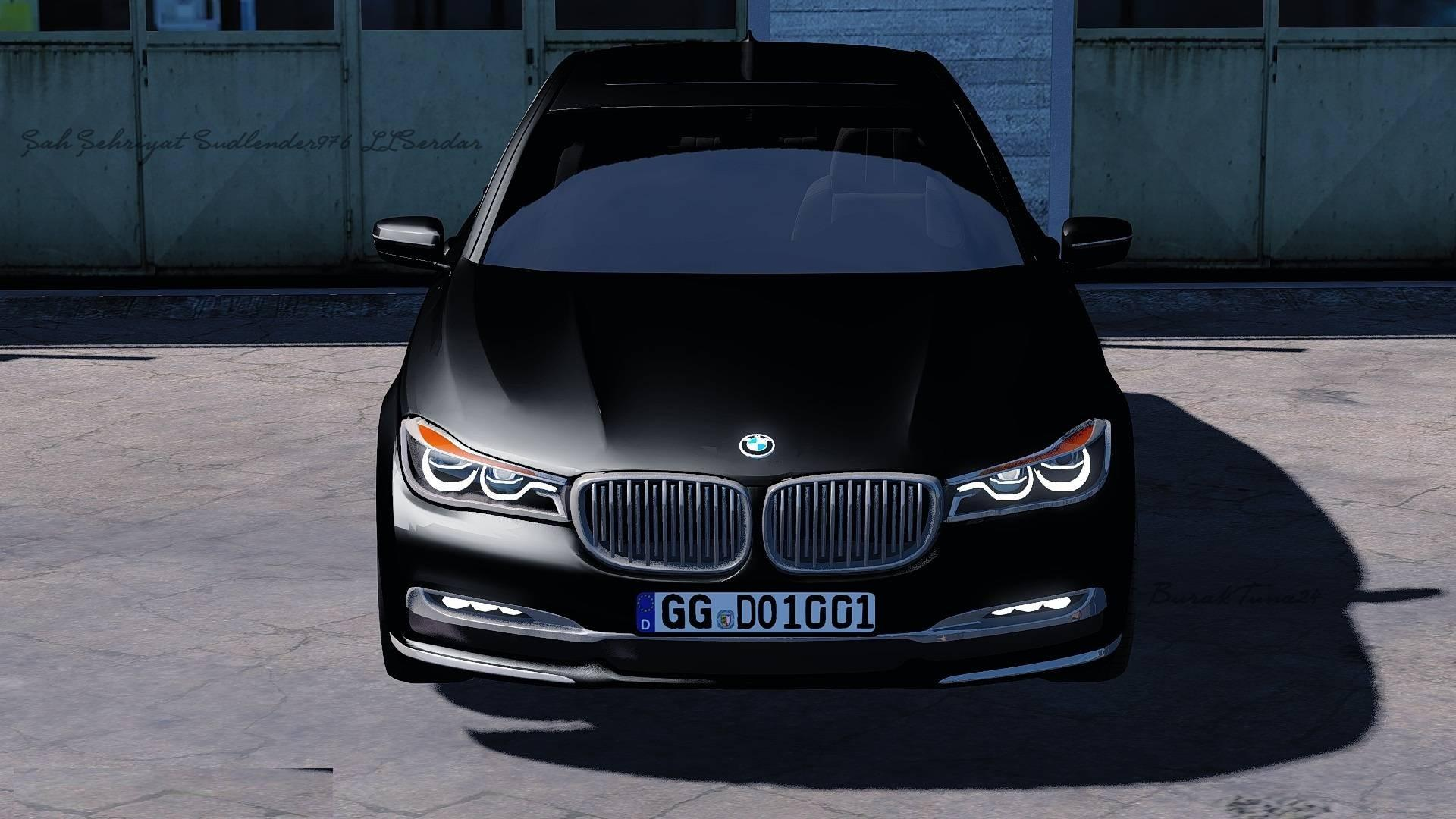 Open Road Bmw >> 2017 BMW 750LD XDRIVE BY BURAKTUNA24 CAR MOD - ETS2 Mod